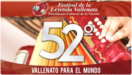 Poster Festival de la Leyenda Vallenata 2019